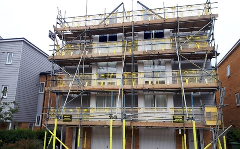 Brownes Scaffolding Window Replacements