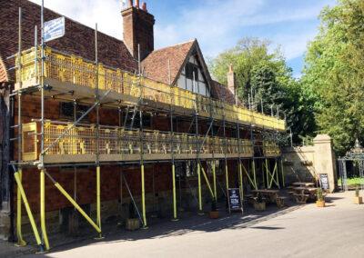 Brownes Scaffolding Castle Inn