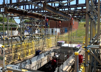 Brownes Scaffolding Lifting Gantry