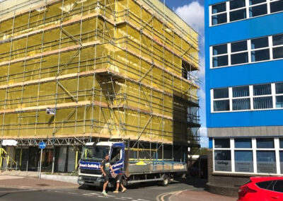 Brownes Scaffolding Office Access