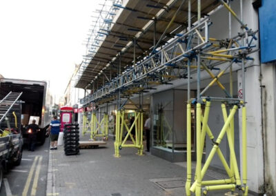 Brownes Scaffolding Pavement Scaffold