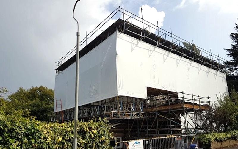 Shrinkwrap Sevenoaks Brownes Scaffolding